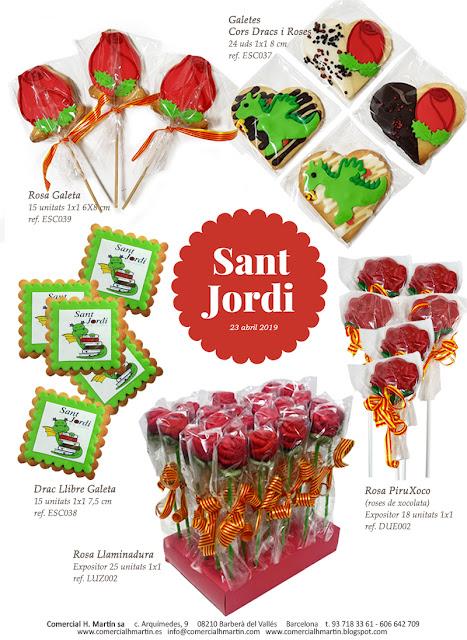 Sant Jordi 2019 - Roses i Dracs - Comercial H. Martin sa