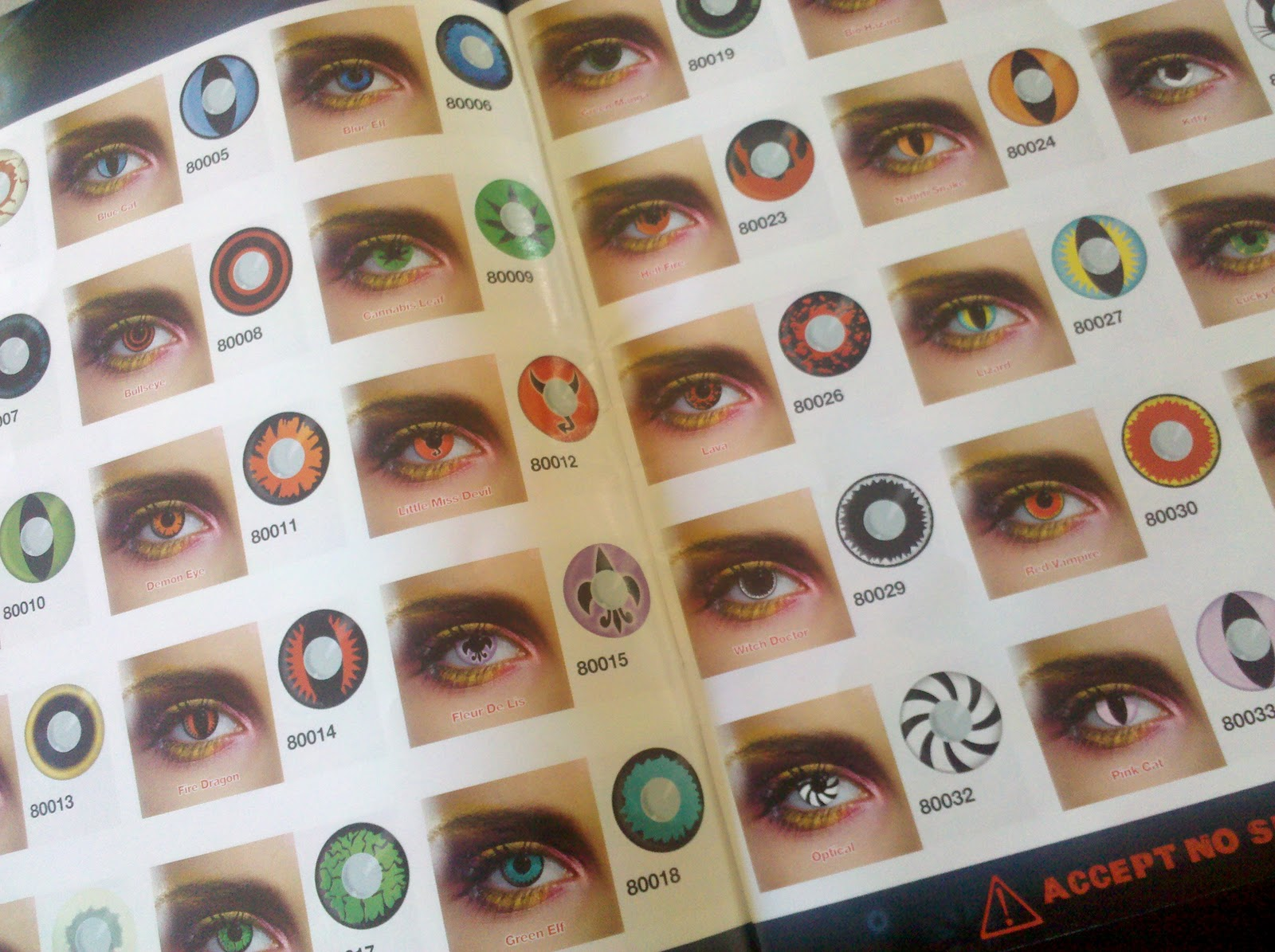 Chase_Love: BodyJewelleryShop com Contact Lens Review