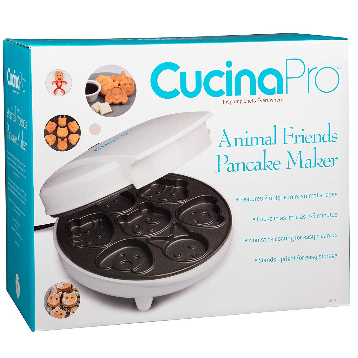 Amazon Cucinapro Inspired By Savannah Add A Smile To Your Child S Breakfast With