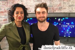 Updated: Daniel Radcliffe on BBC Radio 4's Front Row