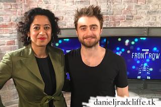 Updated: Daniel Radcliffe on BBC Radio 4's Front Row