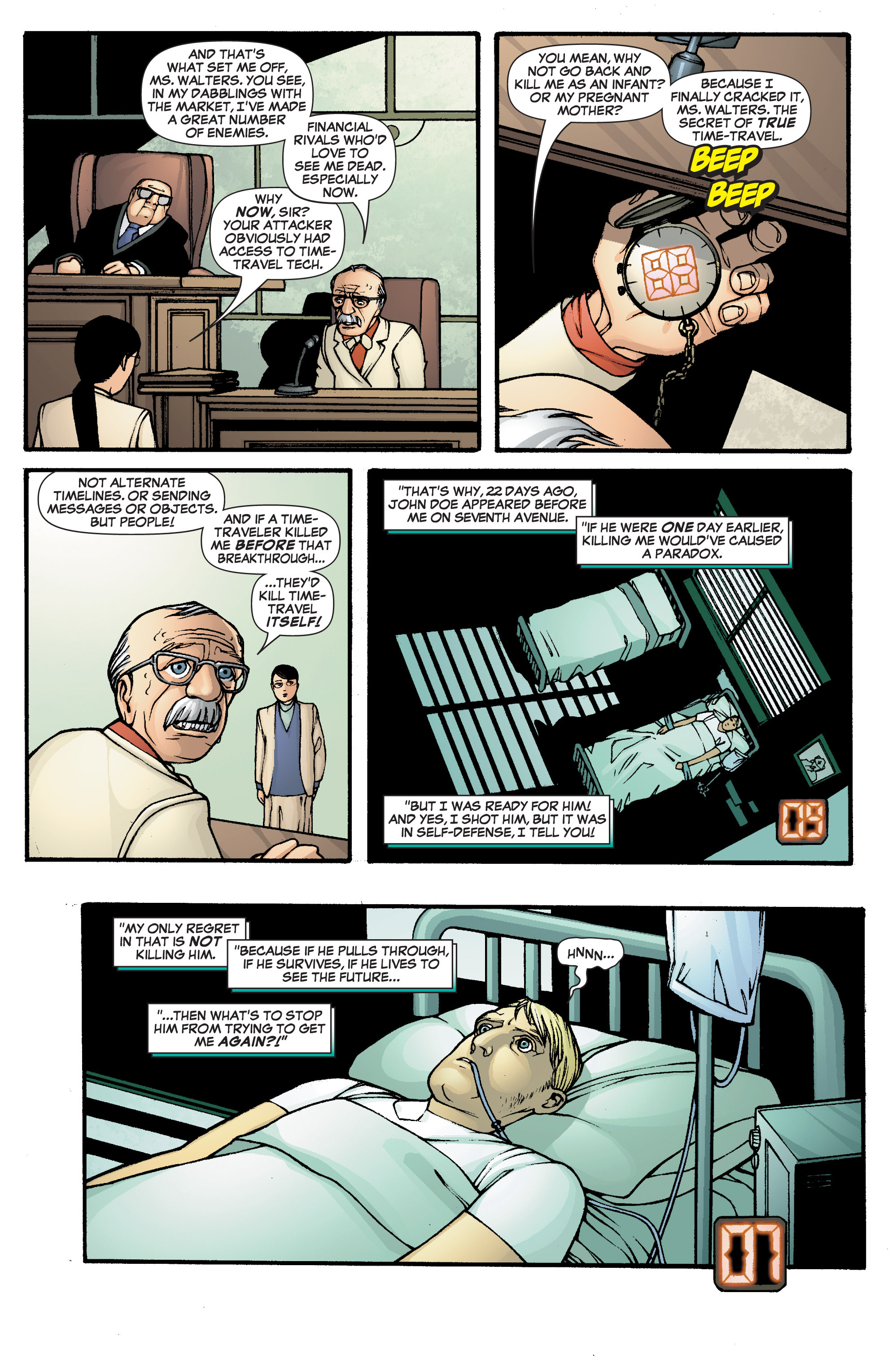 Read online She-Hulk (2005) comic -  Issue #2 - 15