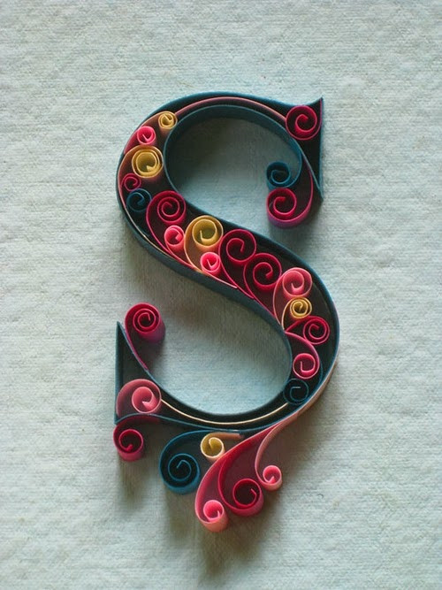 19-S-Quilling-Illustrator-Typographer-Calligrapher-Paper-Sculptor-Sabeena-Karnik-Mumbai-India-Sculptures-A-to-Z-www-designstack-co