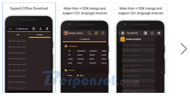 Aplikasi Pembaca Komik Android Terbaik