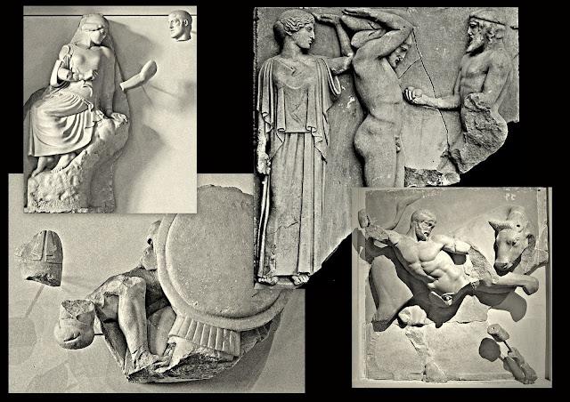 Le sculture del tempio di Zeus a Olimpia