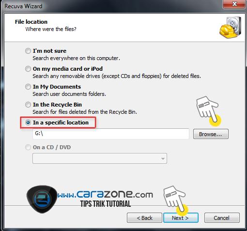 Cara  Mengembalikan File Terhapus pada MICROSD   Kartu Memori
