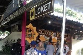 Loket Tiket Masuk Candi Prambanan