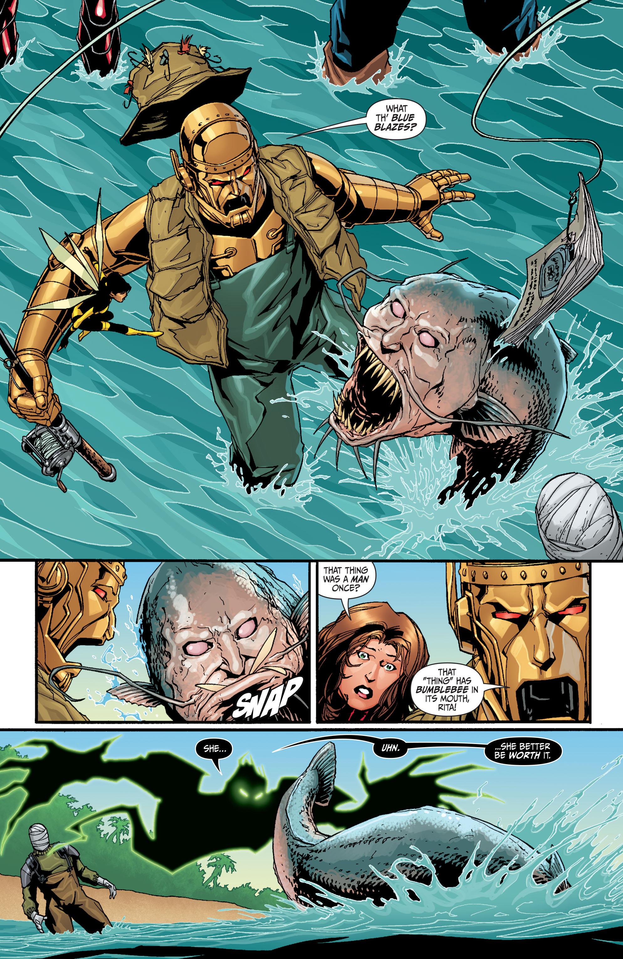 Read online Secret Six (2008) comic -  Issue #30 - 12