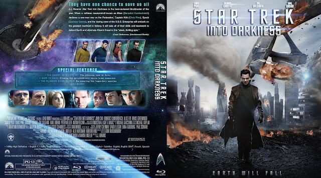 Star Trek: Into Darkness Bluray Cover