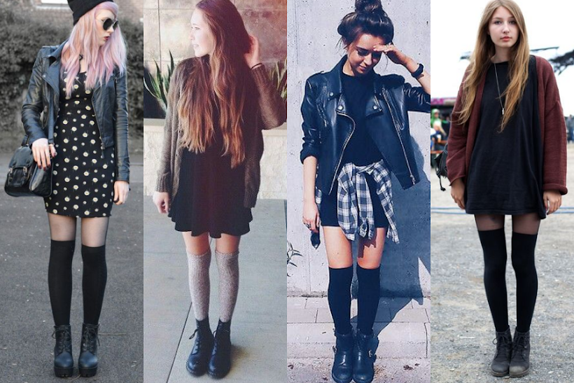 knee-socks-outfits