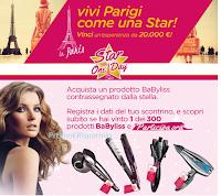 Logo Vinci 300 prodotti BaByLiss e una esperienza a Parigi da 20.000 euro