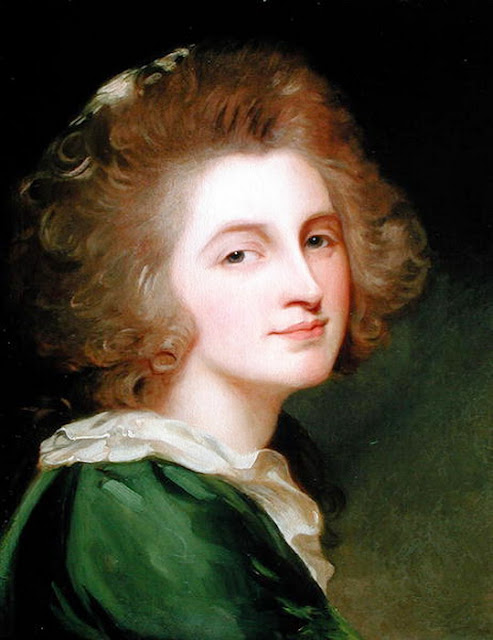 George Romney (1734 - 1802) - Портрет Энн Барбары Рассел