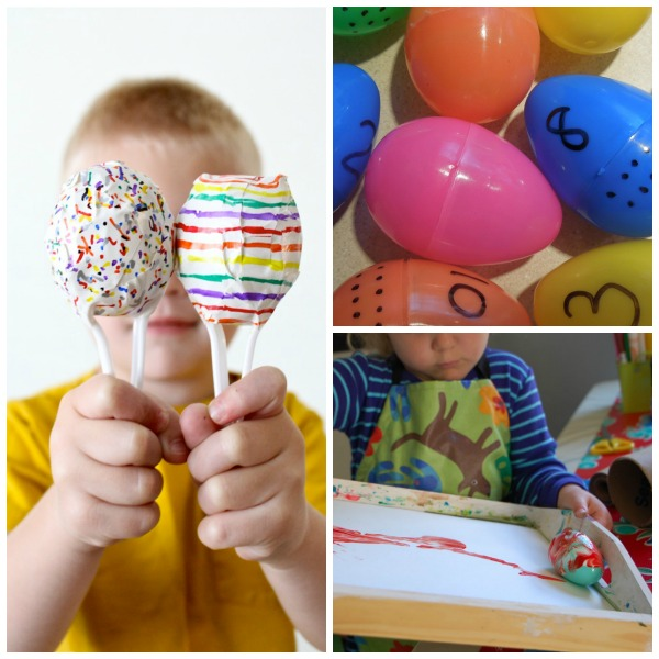 25+ fun & creative ways to use plastic Easter eggs.  Don't toss them after Easter or store them away; try some of these fun ideas instead!