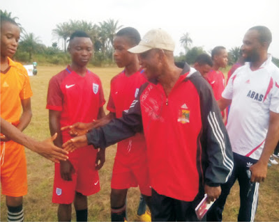 Obong University Inter-Secondary School Football Competition kicked off