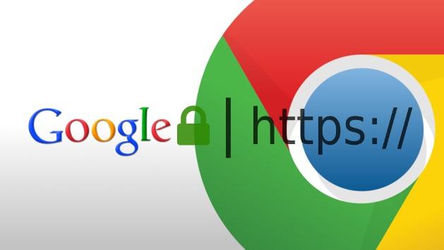 A partir de julio de 2018, el navegador Chrome de Google marcará los sitios que no sean HTTPS como no seguros