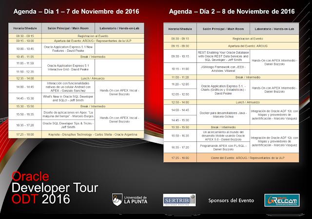 ODT 2016 Agenda
