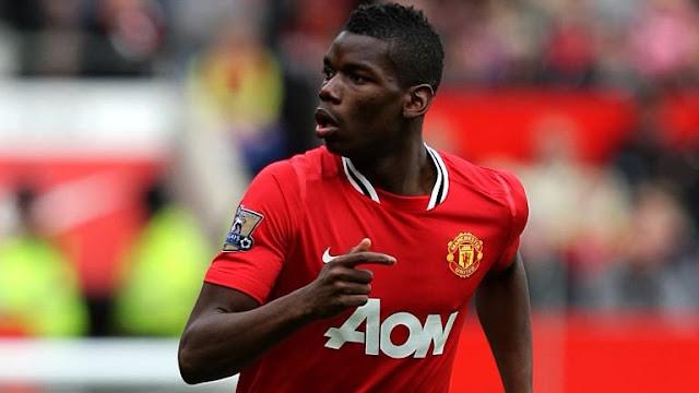 Paul Pogba de retour à Manchester United