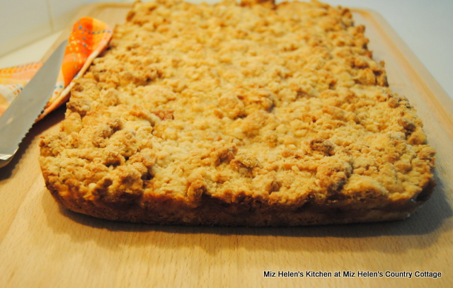 Old Fashioned Peach Bars at Miz Helen's Country Cottage
