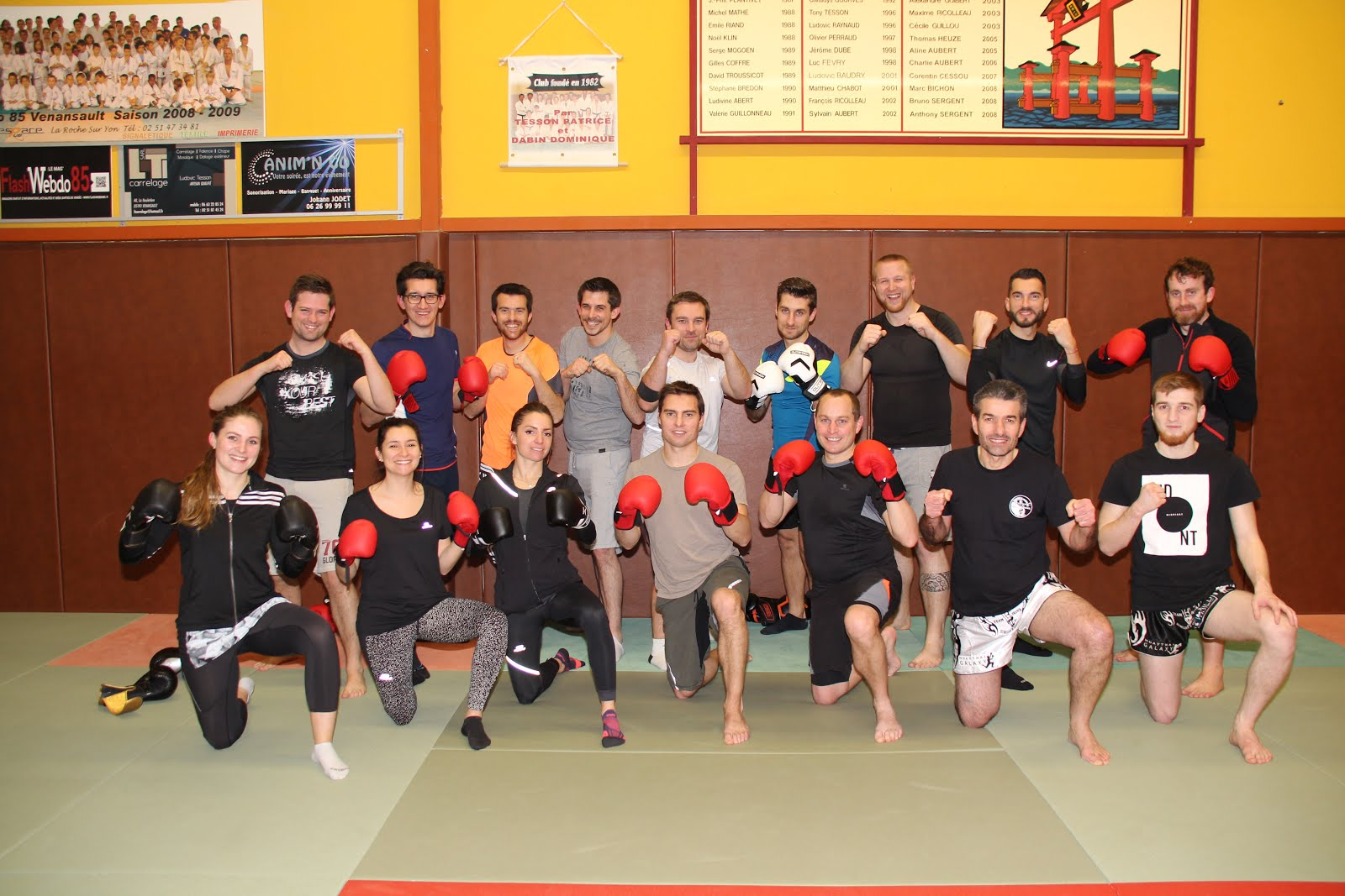 STAGE DECOUVERTE DU MUAY THAI