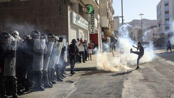 Manifestación en la región del Rif deja 83 heridos, dos en estado grave