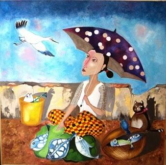 Nihal Senarathna Art gallery: Paintings for sale