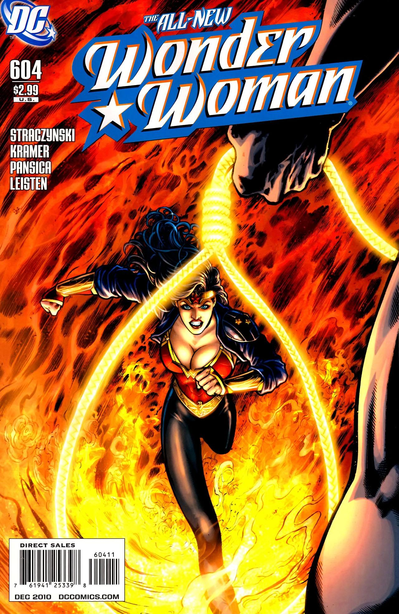 Read online Wonder Woman (2006) comic -  Issue #604 - 1