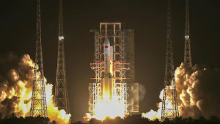 China's Largest Carrier Rocket: Long March-5