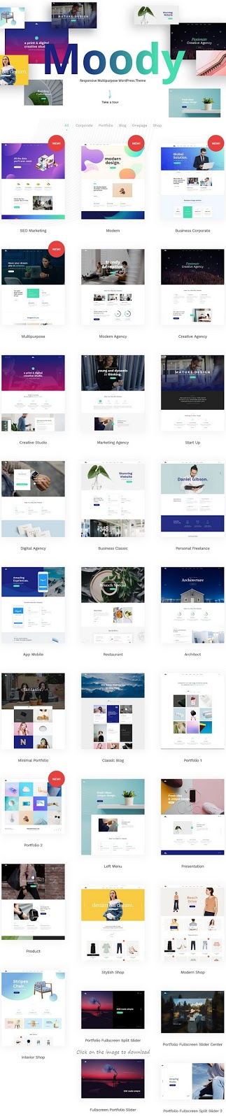 Download Premium Multipurpose WordPress Theme