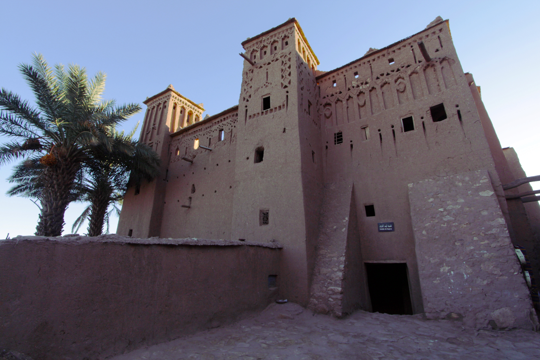 Una fortaleza dentro de la Kasbah de Aït Ben Haddou