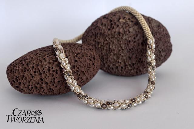 sznur turecki toho perełki ryż koralikowy toho PF glavezed aluminium FP 4mm