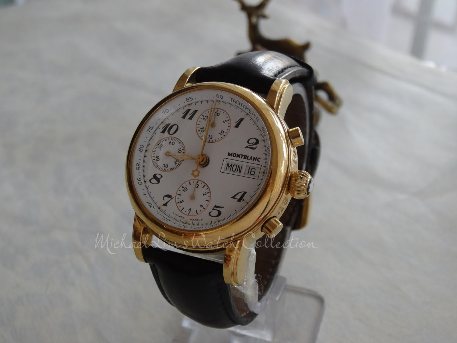 173d2ef28d28  27   (SOLD) Montblanc Meisterstuck Automatic Chronograph 4810 501