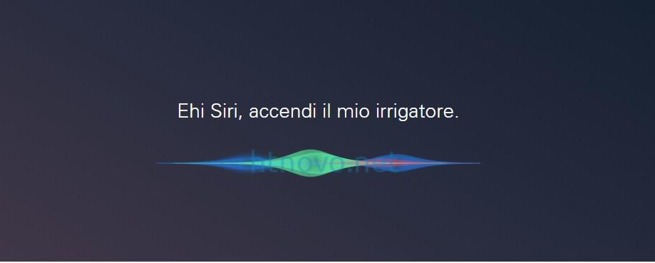 Siri-accendi-irrigatore