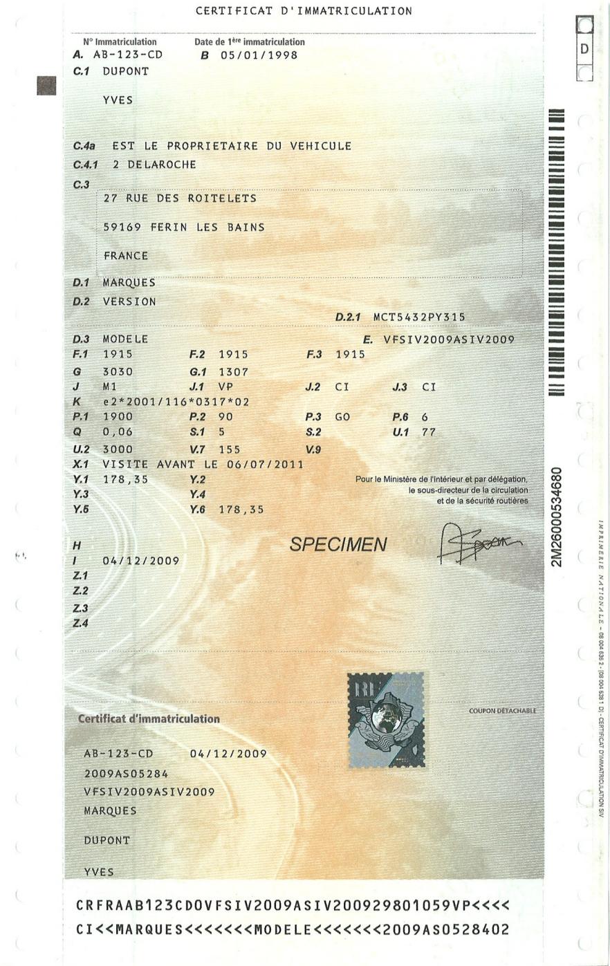 ffve carte grise collection voiture clubdes5a..com: CLUB5A   L'ASTATION SPÉCIALISTE DES CARTES