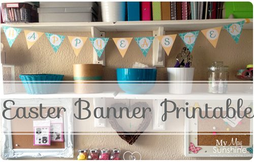 Easter Banner Printable