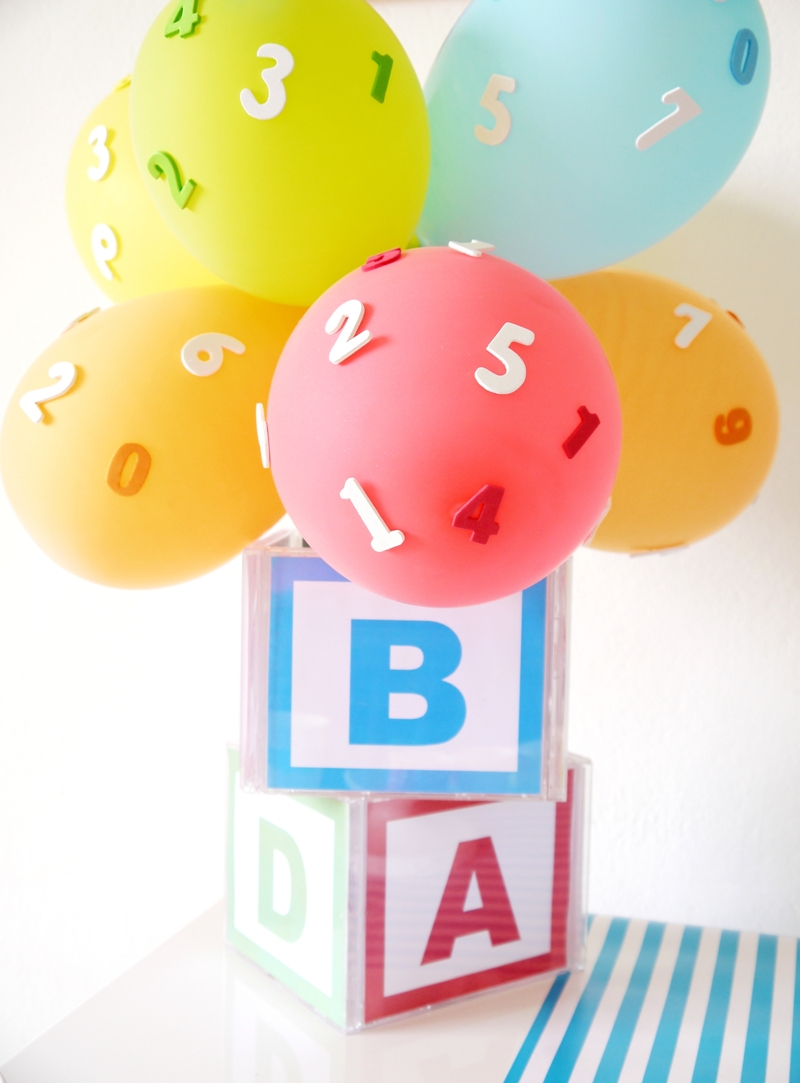 ABCs & 123s Birthday Party for PBS Parents with FREE Printables - BirdsParty.com