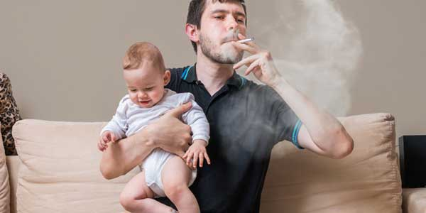 bahaya asap rokok bagi bayi