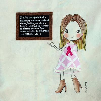 Bolso personalizado maestra