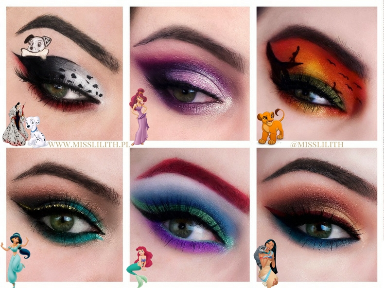 disney eye makeup