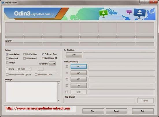 تحميل جميع إصدارات برنامج أودين لتحديث وتغيير الروم لأجهزة سامسونج وأندرويد Samsung Odin 3.10