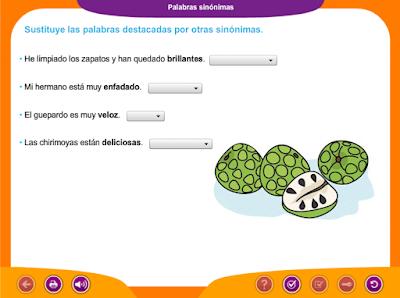 http://ceiploreto.es/sugerencias/juegos_educativos_2/5/Palabras_sinonimas/index.html