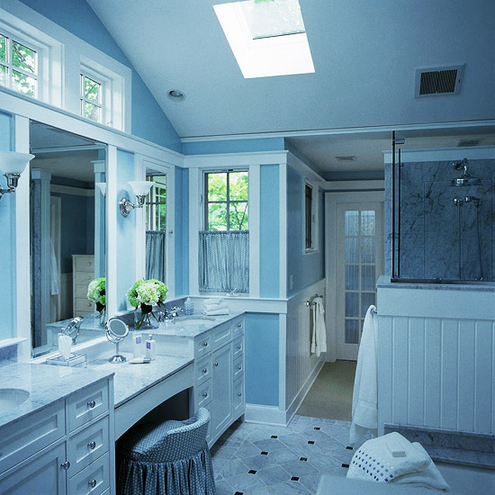 Home Design Ideas Elevation: Blue Bathroom Design Ideas