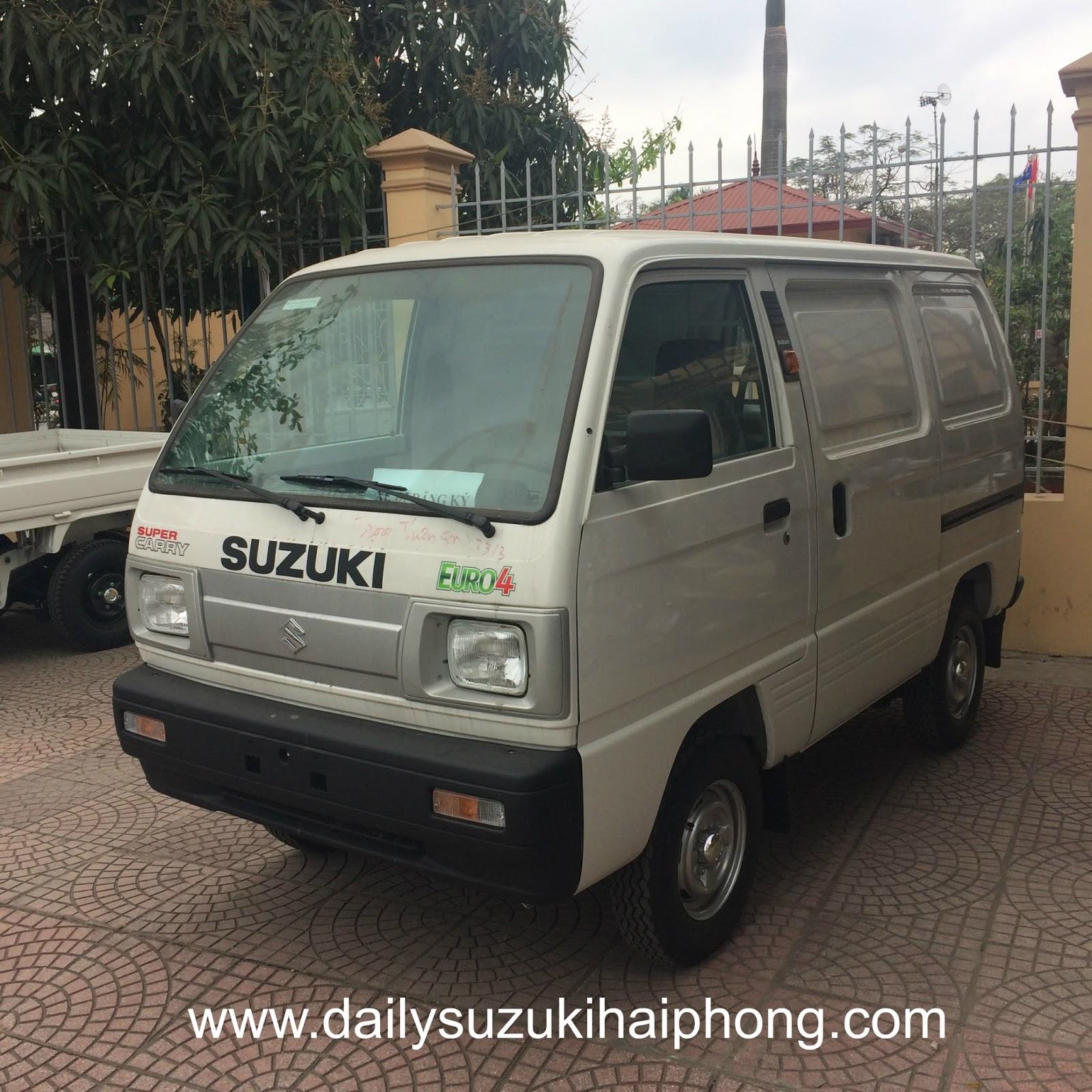 bán xe bán tải Blind Van Suzuki Hải Phòng