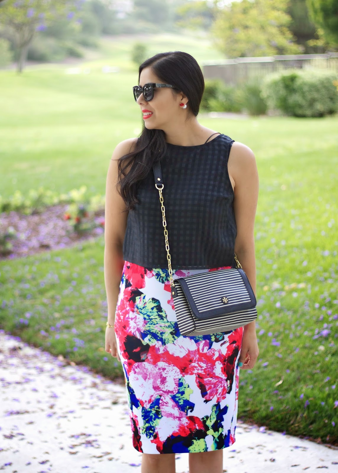 Kohls Outfit blogger, kohls blogger, kohls fashion blogger, outfit by kohls, milly and kohls collaboration skirt