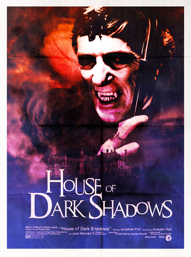 The Collinsport Historical Society House Of Dark Shadows 80s Style