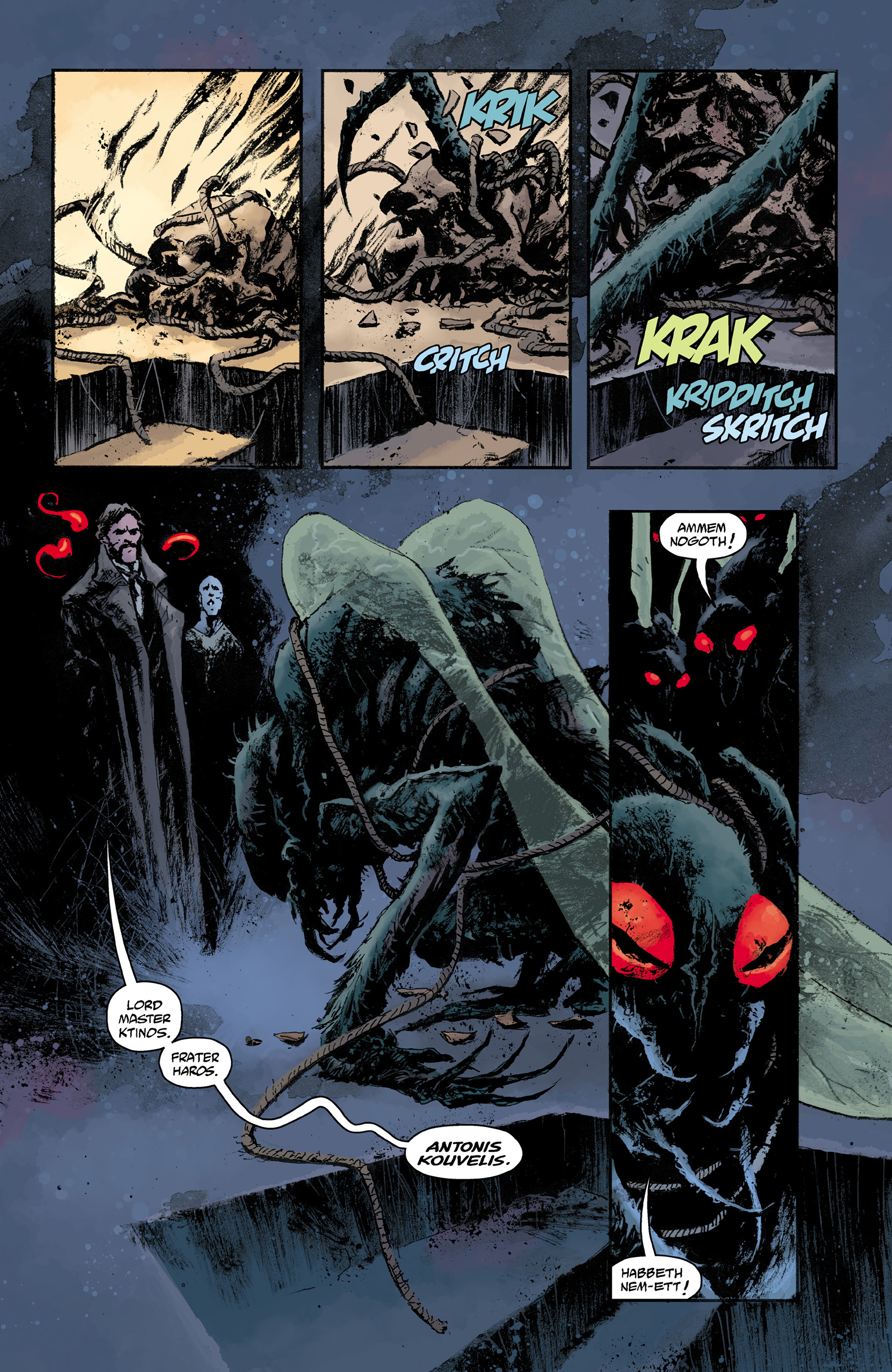 Read online Abe Sapien comic -  Issue #31 - 9