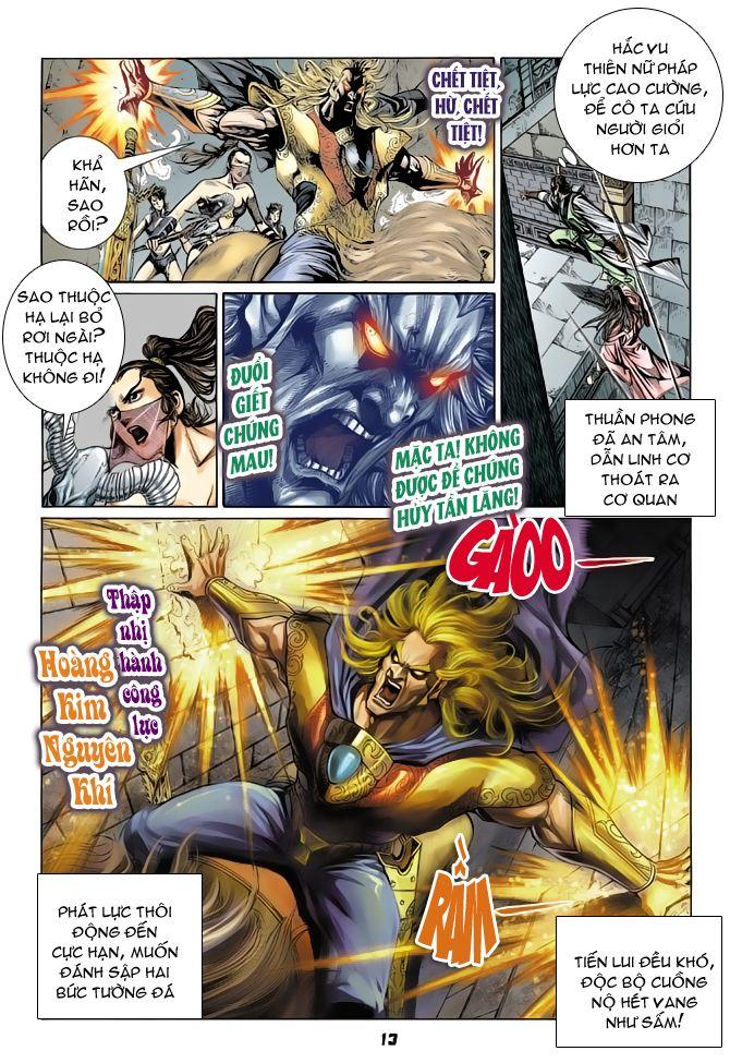 Đại Đường Uy Long chapter 50 trang 13