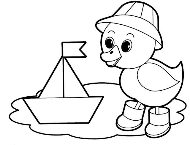 tranh tô màu động vật cho bé tập tô màu 2