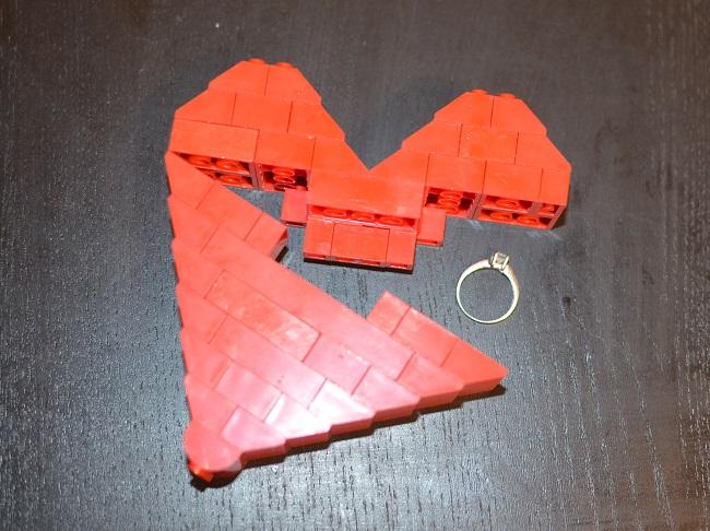 Lego srdce