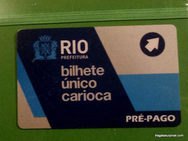 Transporte público Rio de Janeiro - Bilhete Único Carioca