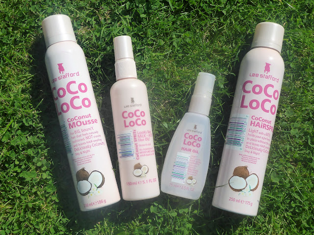 Lee Stafford CoCo LoCo Coconut Hair Products